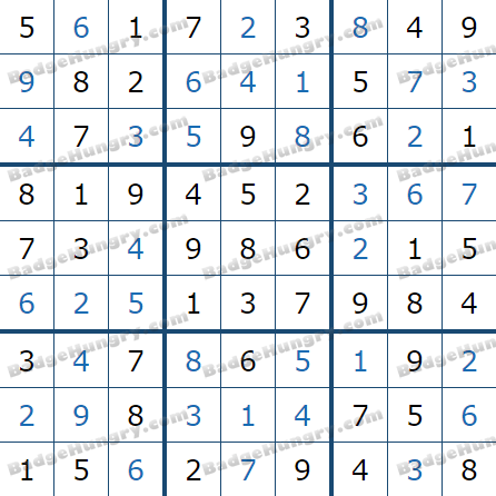 Pogo Daily Sudoku Solutions: July 15, 2021