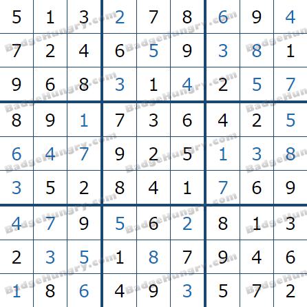 Pogo Daily Sudoku Solutions: July 17, 2021
