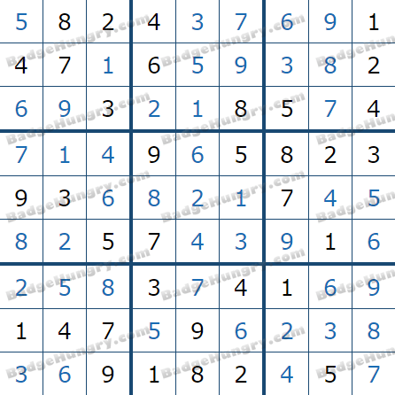 Pogo Daily Sudoku Solutions: July 18, 2021
