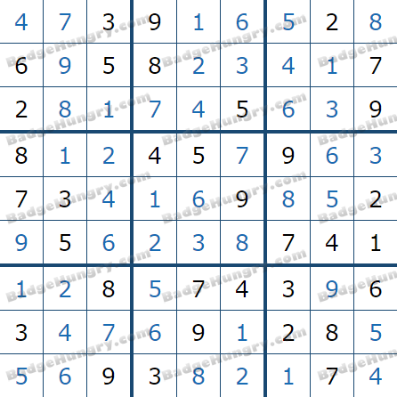 Pogo Daily Sudoku Solutions: July 20, 2021