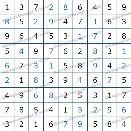 Pogo Daily Sudoku Solutions: July 21, 2021