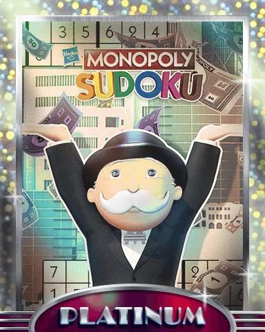 MONOPOLY Sudoku Mix-n-Match Badge