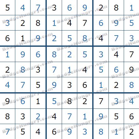 Pogo Daily Sudoku Solutions: July 22, 2021