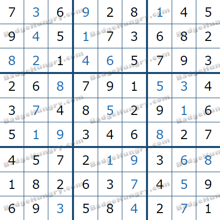 Pogo Daily Sudoku Solutions: July 23, 2021