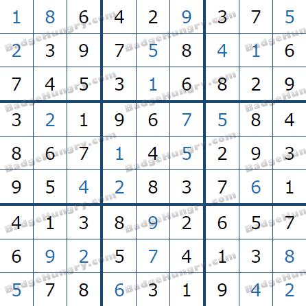 Pogo Daily Sudoku Solutions: July 24, 2021