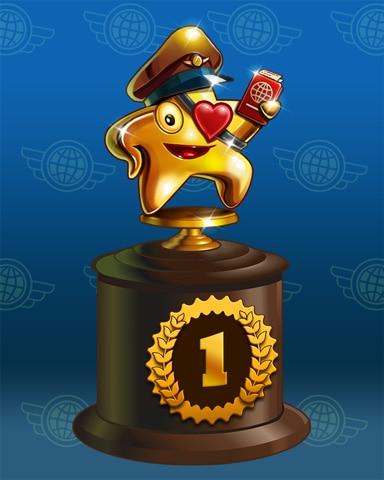 Starrgh-Fish Scamper Badge Marathon Badge