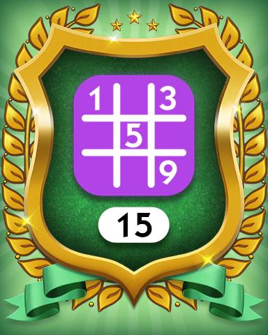 Monopoly Sudoku In-Game Award Badge