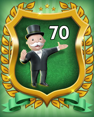 MONOPOLY Sudoku Rank 70 Badge