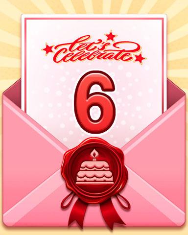 Anniversary Challenge Sweep Badge