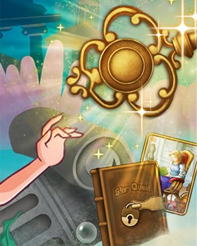 Sunken Secrets Treasure Chase Badge