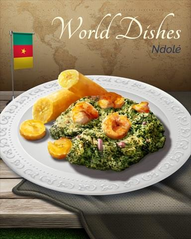 World Dishes Badge Collection Badge