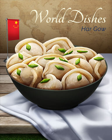World Dishes Badge Collection – Week 2
