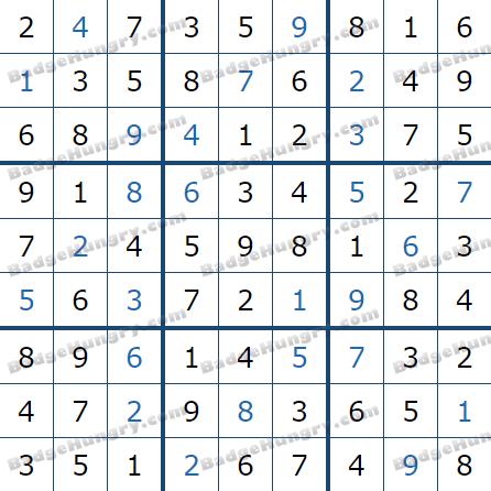 Pogo Daily Sudoku Solutions: September 14, 2021