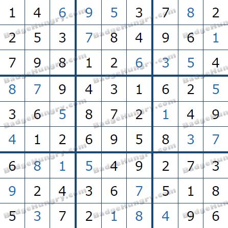 Pogo Daily Sudoku Solutions: September 16, 2021