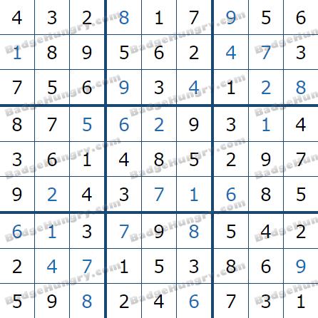 Pogo Daily Sudoku Solutions: September 17, 2021