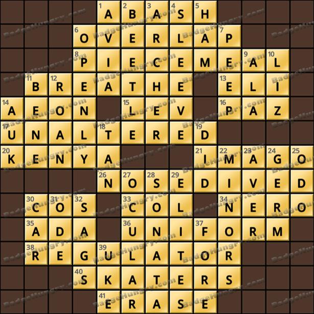 Crossword Cove HD Solution: September 17, 2021