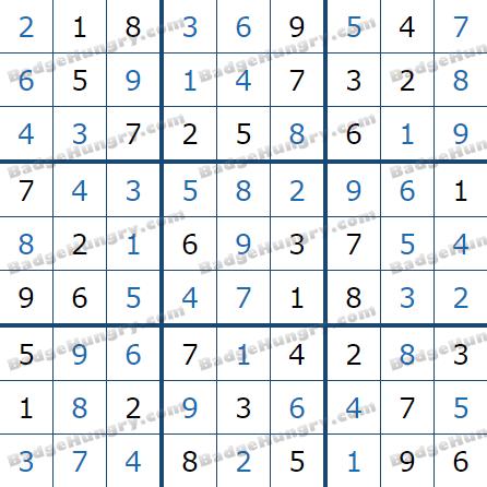 Pogo Daily Sudoku Solutions: October 13, 2021