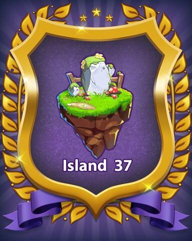 Bejeweled Stars Island 37 Badge